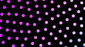 Preview wallpaper dots, circles, gradient, black