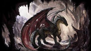 Dragon full hd hdtv fhd 1080p wallpapers hd desktop backgrounds preview wallpaper dragon cave light art altavistaventures Images