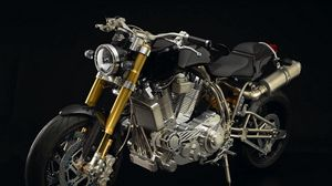 Preview wallpaper ecosse heretic titanium, ecosse moto works, motorcycle, the most expensive motorcycle in the world