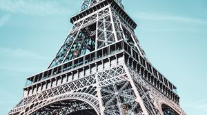 Preview wallpaper eiffel tower, architecture, paris, france, design