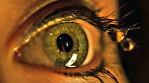 Preview wallpaper eye, drops, macro, eyelashes