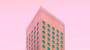 Preview wallpaper facade, architecture, minimalism, building, rotterdam, netherlands
