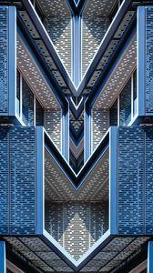 Preview wallpaper facade, building, architecture, design, form