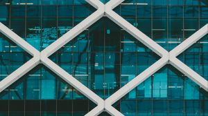 Preview wallpaper facade, windows, architecture, structure, glass