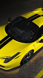 Preview wallpaper ferrari, 458 italia, spider, capristo