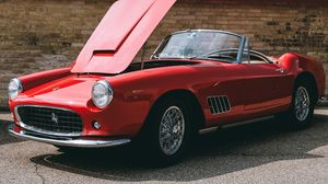 Preview wallpaper ferrari, convertible, luxury