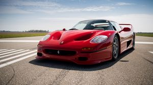 Preview wallpaper ferrari, f50, 1995, red