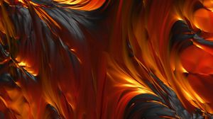 Preview wallpaper fire, oil, paint, oiled