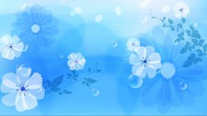 Preview wallpaper flowers, abstract, background, pattern