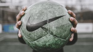 Preview wallpaper football ball, ball, football, sport