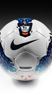 Preview wallpaper football, nike, ball, barclays premier league, sport, premier league