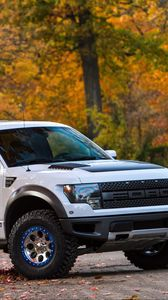 Preview wallpaper ford, f-150, raptor, tune, roush performance, pickup, phase 2, roush