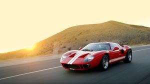 Preview Wallpaper Ford Gt40 Mki Superformance 2007 Red Sports Car