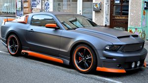 Preview wallpaper ford, mustang, tuning