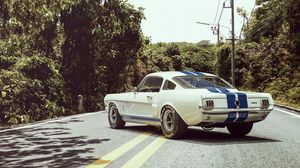 Preview wallpaper ford, shelby, gt350r, muscle