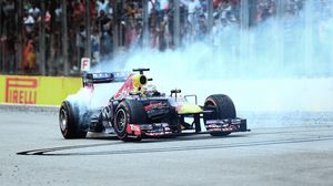 Preview wallpaper formula 1, vettel, f1, red bull, brazil, interlagos