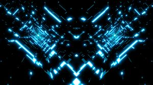 Preview wallpaper fractal, glow, light, bright, abstraction