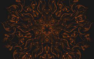 Preview wallpaper fractal, mandala, pattern, abstraction, art