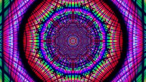 Preview wallpaper fractal, pattern, kaleidoscope, tangled, colorful, abstraction