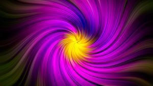 Preview wallpaper fractal, swirling, rotation, purple, abstraction