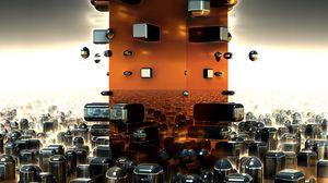 Preview wallpaper fractals, shapes, future, design, chaos
