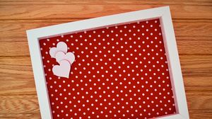 Preview wallpaper frame, hearts, love, decoration
