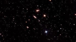Preview wallpaper galaxy, stars, glare, space