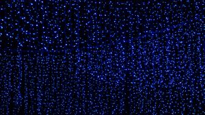 Preview wallpaper garland, light, neon, decoration, glow, blue