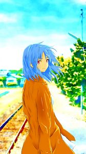 Preview wallpaper girl, anime, art