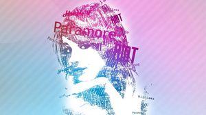 Preview wallpaper girl, portrait, bright, brush