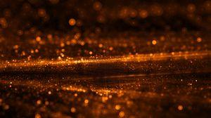 Preview wallpaper glare, bokeh, shine, circles, flow, fractal, light