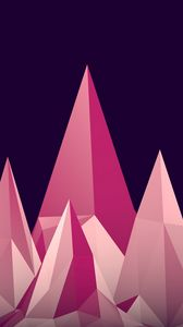 Preview wallpaper graphics, low poly, digital art, minimalism