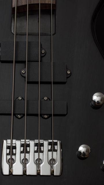 360x640 Wallpaper guitar, bass guitar, strings