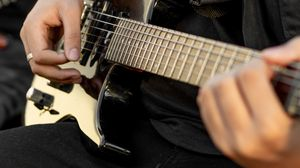 Preview wallpaper guitar, electric guitar, guitarist, music