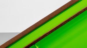 Preview wallpaper handrail, wall, interior, minimalism, symmetry, green