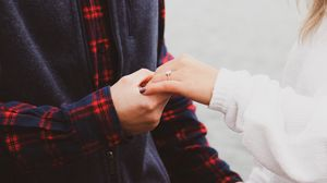 Preview wallpaper hands, touch, love, tenderness