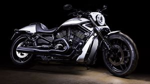 Preview wallpaper harley-davidson, bike, motorcycle, side view