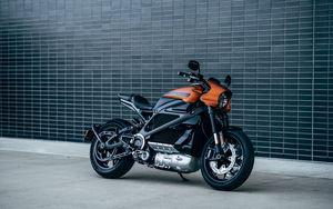 Preview wallpaper harley-davidson livewire, harley-davidson, motorcycle, bike, electric bike, side view