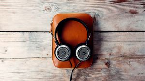Preview wallpaper headphones, audio, music, style