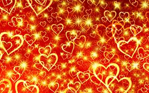 Preview wallpaper heart, art, shine
