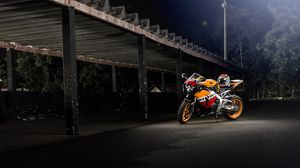Preview wallpaper honda, cbr1000rr, repsol, motorcycle, bike
