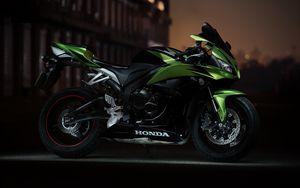 Preview wallpaper honda cbr600rr, sportbike, motorcycle, side view