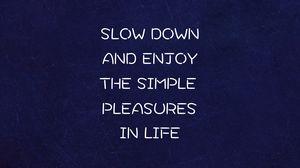 Preview wallpaper inscription, life, quote, motivation, simplicity