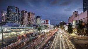 Preview wallpaper japan, tokyo, shinagawa station
