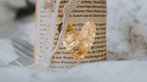 Preview wallpaper jar, heart, love, bow, garland, decoration