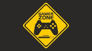 Preview wallpaper joystick, controller, gamer zone, player