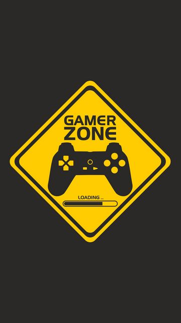 360x640 Wallpaper joystick, controller, gamer zone, player