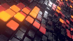 Preview wallpaper keys, equipment, squares, shapes