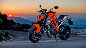 Preview wallpaper ktm 1290 super duke r, motorcycle, sports