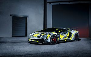Preview wallpaper lamborghini, aventador, lp-750-4, sv